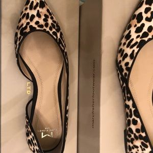 Leopard flats 5.5